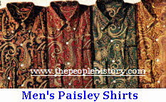 Mens Paisley Shirts