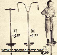 1960s Pogo Sticks From The 1960s