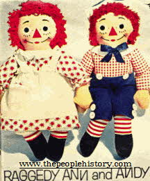 Raggedy Anne and Andy From The 1960s