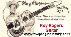Roy Rogers Guitar From The 1960s