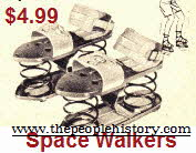 Space Walker Shoes From The 1960s