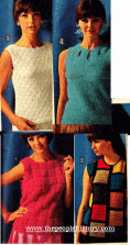 Trendy 60s Ladies Jumpers