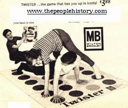 Game of Twister From The 1960s