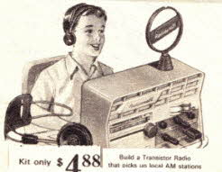 Build A Transistor Radio Kit From The 1960s