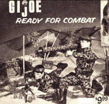 GI Joe Green Beret Models and Kit From The 1960s
