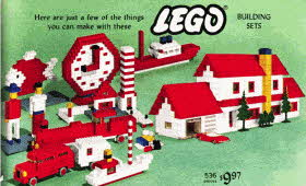 Lego Building Set From The 1960s