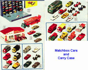 Selection Of Popular 60's Matchbox Cars
