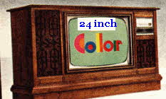 24 Inch Solid State Color TV