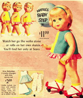 60s Mattel the dolls from