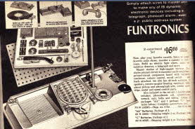 Funtronics Electronics Building Kit From The 1960s