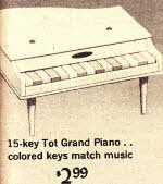 Grand Piano From The 1960s