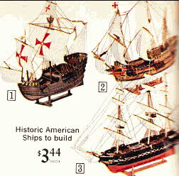 Build American Historic Model Ships From The 1960s