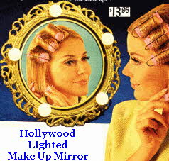 Hollywood Lighted Make Up Mirror