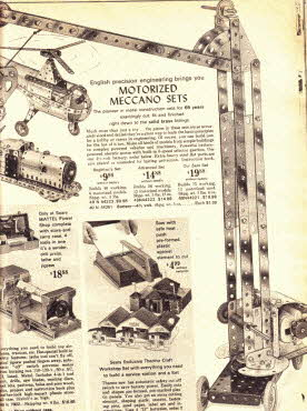 Motorized Meccano Set From The 1960s