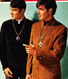 Mens 1960's Nehru Coats