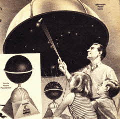 Home Planetarium From The 1960s