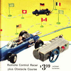 Remote Control Car From The 1960s