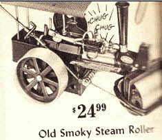 Steam Roller From The 1960s