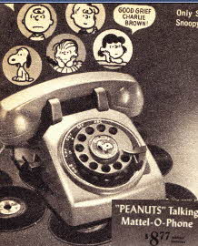 Talking Phone  From The 1960s