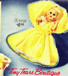 Tiny Tears Doll From The 1960s