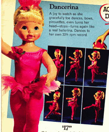 Ballerina Doll From The 1960s