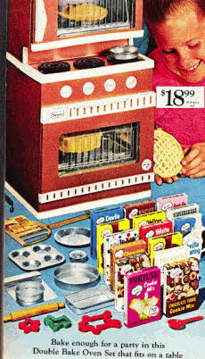 Real Working Baking Oven For Children From The 1960s