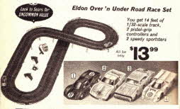 Elden Car Racing Set From The 1960s