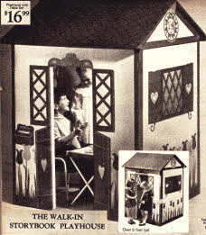Childrens Playhouse for indoor or Garden Use From The 1960s