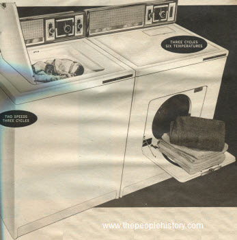1962 Washer Dryer Combo