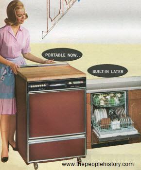 1966 Portable Dishwasher