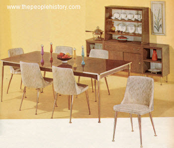 Furniture For Your Home In The 1960 S Prices And Examples Dining Room