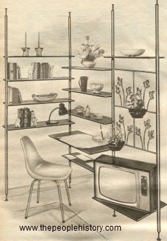 1962 Adjustable Shelving