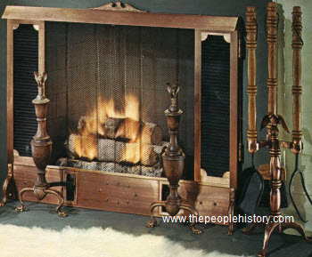 1967 Fireplace Screen