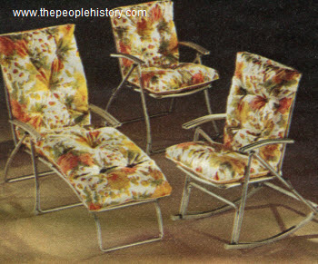1968 Outdoor Lounge Set