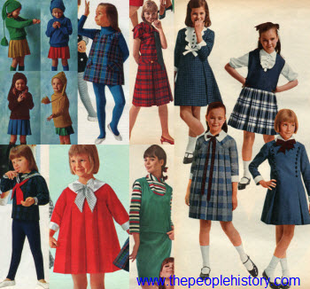 1965 Girls Clothes