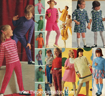1960s Children's Fashion Part of Our Sixties Fashions Section