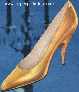 Selection of Twenty 1960s Fashion Shoes with Photos, Prices and ...