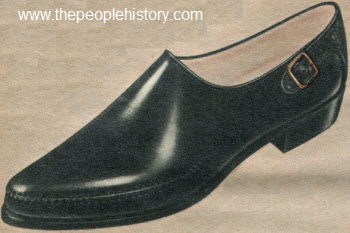 1962 Buckle Trim Shoe