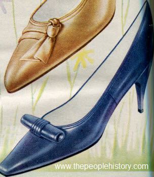 1962 Square Toe Pump