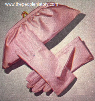 1963 Bag and Glove Set