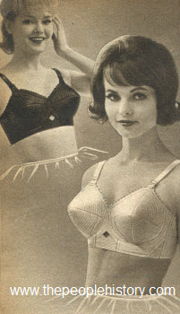 1963 Feather Lift Bra