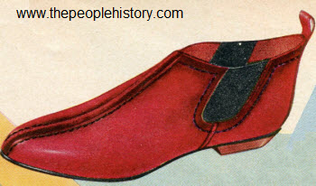 1963 Red Bootie