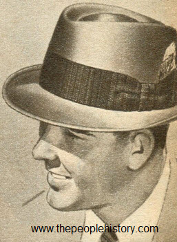 1963 Tapered Telescope Hat