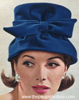 1964 Bow Trimmed Cloche
