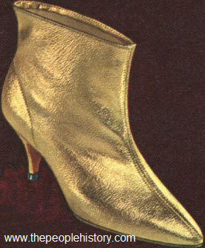 1964 Gold Color Boot