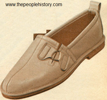 1964 Tan Glove Leather Slippers