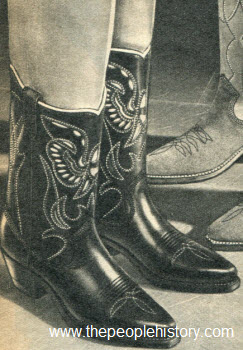 1965 Authentic Cowboy Boots