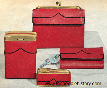 1965 French Purse Set