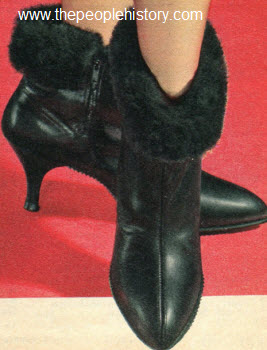 1965 High Heel Boot