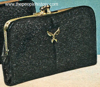 1965 Imported English Morocco Clutch